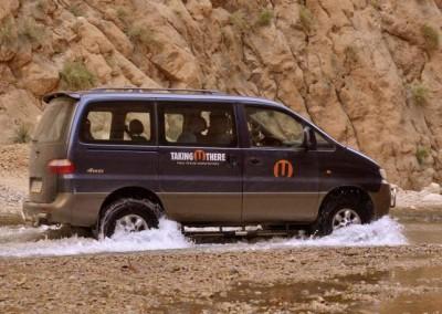 4wd Minibus 7 assentos individuais